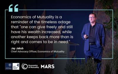 What is Economics of Mutuality and How is it Different from Corporate Social Responsibility?